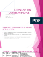 festivals of the caribbean people