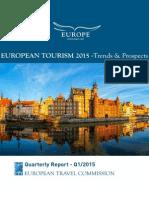 European Tourism Council Quarterly Report Q1-2015