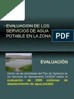 evaluacion de los sistemas de agua potable-DIGESA.ppt
