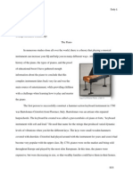 research paper(the piano)