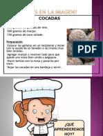 receta cocadas