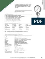 BDT12 - All Stainless Steel Diaphragm Pressure Gauge 2A En