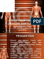 Askep Pada Pasien Dengan Ankylosing Spondylitis
