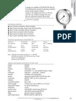 BDT18 - All Stainless Steel Pressure Gauge 2 En