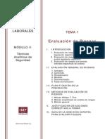 Máster Prevención Riesgos Laborales Módulo 2 Tema 1