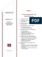 Máster Prevención Riesgos Laborales Módulo 2 Tema 4