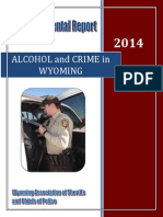 Alcohol and Crime in Wyoming 2014