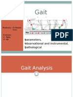Gait Analysis – Parameters, Observational and Instrumental