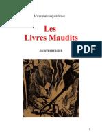 Aventure Mysterieuse Les Livres Maudits Jacques Bergier