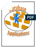 database applications binder