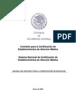 Manual Del Proceso Certificacion de Hospitales-2009v05 (2)