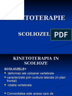 KINETOTERAPIE  scolioze
