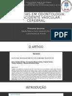 AVC - Primeios Socorros em Odontologia.
