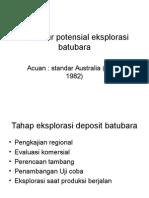 Prosedur Pot Batubara