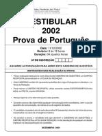 Prova Portugues 2002