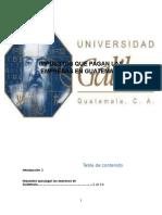 Impuesto Para Empresas en Guatemala II