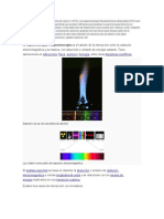 La Espectroscopía Fasdotoelectrónica de Rayos X