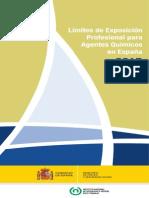 Limites de Exposicion 2015