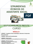 1 Instrumentais Técnicos Do Assistente Social