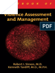 Violence Assessment and Management Livro 2008