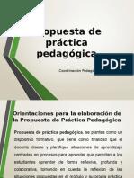 Propuesta de Práctica Pedagógica - PPP