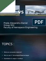 Boeing vs Airbus - Composite Materials