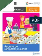 Ficha Extendida 09 Reparto de Refrigerios y Menus