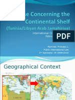 Case Concerning the Continental Shelf (Tunisia/Libyan Arab Jamahiriya)