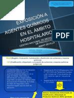 Exposicion a Q Ambito Hospitalario
