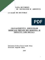 Rezumat Lucrare de Doctorat Pentru Comisie Iulie 2009