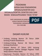 Hukor Dokter Dan Bidan PTT