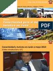 """Ponencia """"Conectividad para Turismo en Junín"""" (UNCP Tarma - Mayo 2015)"""