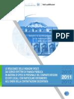 Spese Regioni_finanza 2012