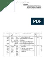 Proiectarea Unitatii de Invatare a VII-A Gimnastica Acrobatica
