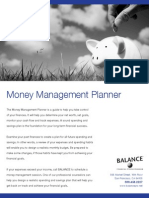 Money Management Planner