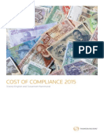 Cost of Compliance 2015_Thomson Reuters