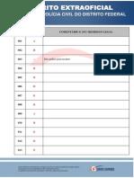 Gabarito Extraoficial Delegado Pcdf1