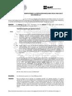Tercera Resolución de Modificaciones a la Resolución Miscelánea Fiscal para 2015.