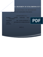 Estudio parametros de admision y formacion de la mezcla