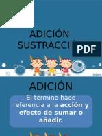 ADICIÓN  SUSTRACCIÓN-EJERCICIOS