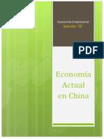 Economía Actual en China