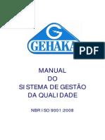 Manual Qualidade Gehaka