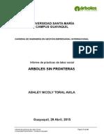 Arboles Sin Fronteras Informe Final