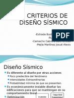 Criterios de Diseño Sísmico