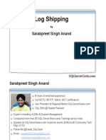 Log Shipping Webcast 16 May 2012 SarabpreetSingh-final