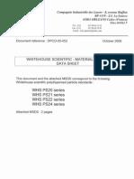 DPCO-05-052 Whitehouse Samples MSDS_N