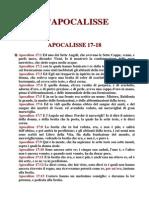 17 18.Apocalisse 17 18 Babilonia Le Teste Le Corna Giudizio e Condanna