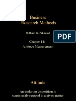 BRM Attitude Measurement