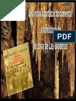 SARAWAK. 2014.08.07. Una Nova Aportació Documental a La Història de La Cova de Las Graderas
