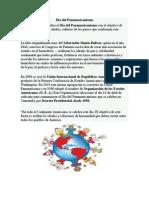 Día Del Panamericanismo